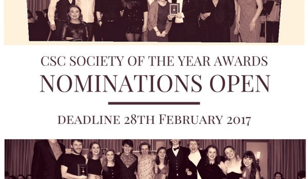CSC Society of the Year Awards AD