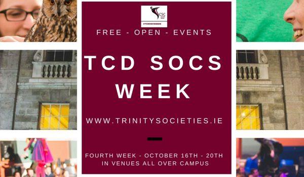 Copy of TCD Socs week
