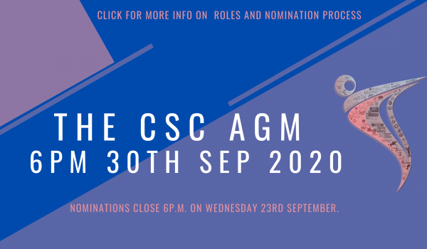 csc agm 6pm 30th sep 2020
