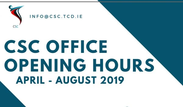 summer opening hours 2019