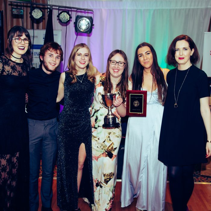 LitSoc winning best Overall
