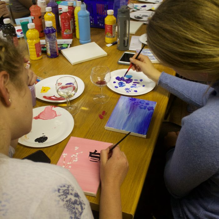 VisArts Creative canvasses 4th week 25
