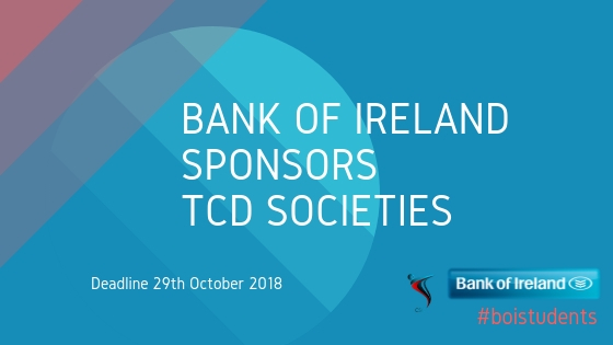 BOI Sponsorship for tcd societies