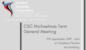 CSC TERM GENERAL MEETING