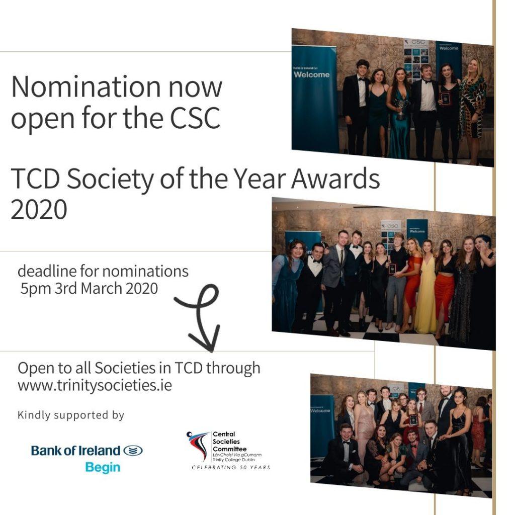 Insta SOY notice nominations open 2020