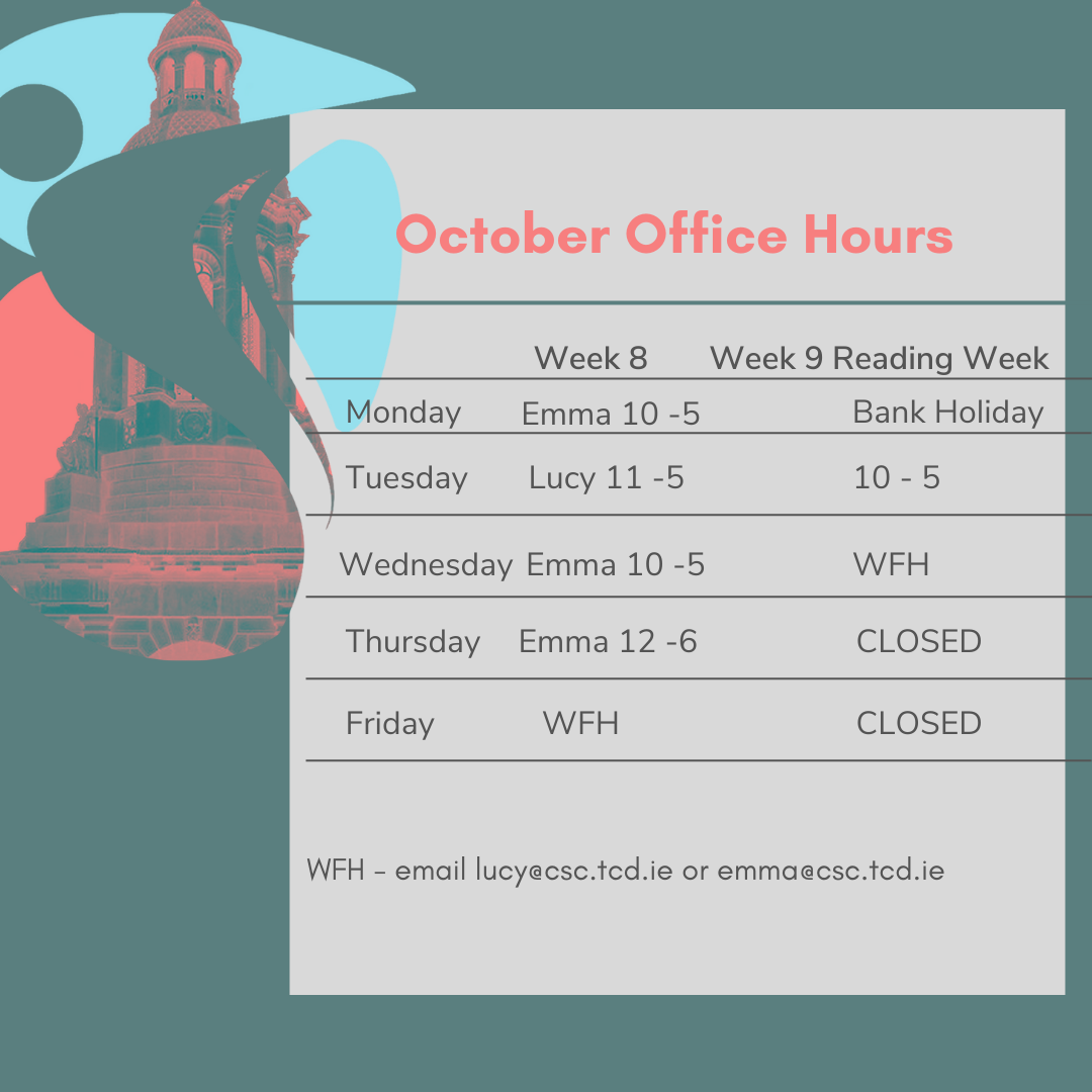 CSC October opening hours