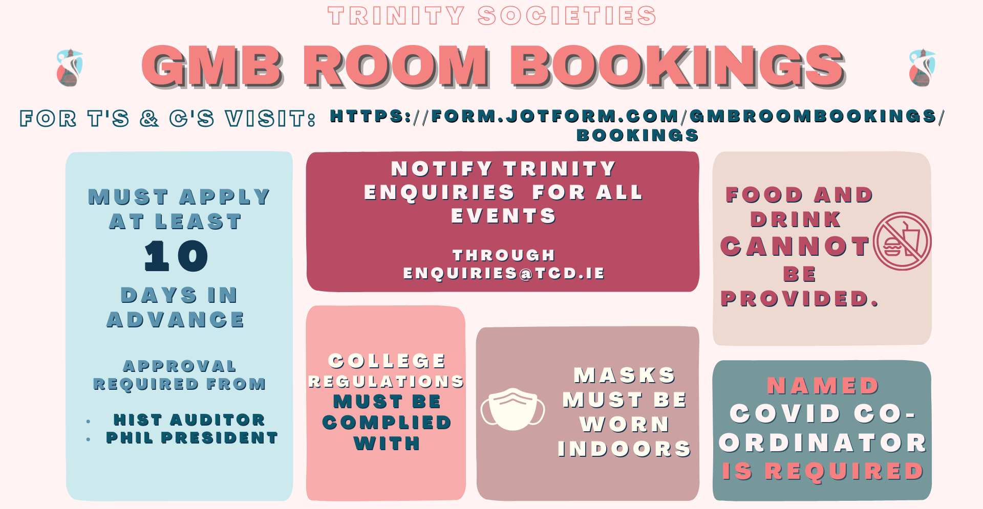 gmb indoor booking Ts Cs