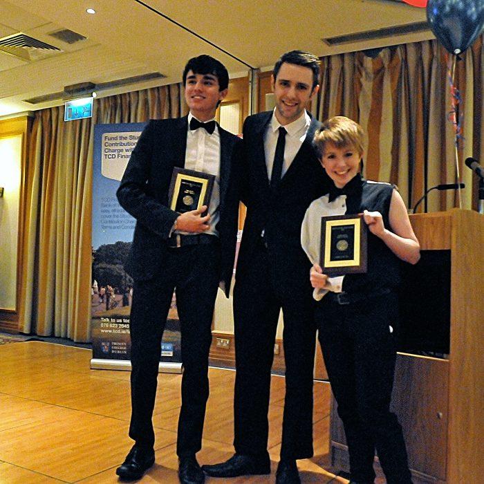Best Freshers Joint winners