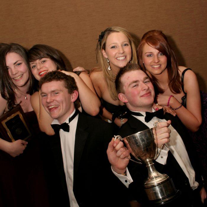 St V De Paul winners best overall society
