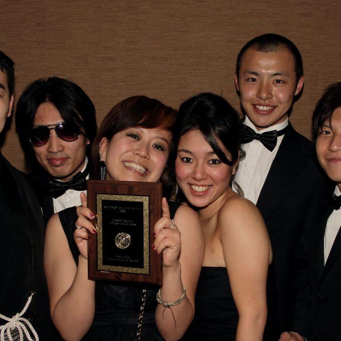 Winners  best medium Japanese Society