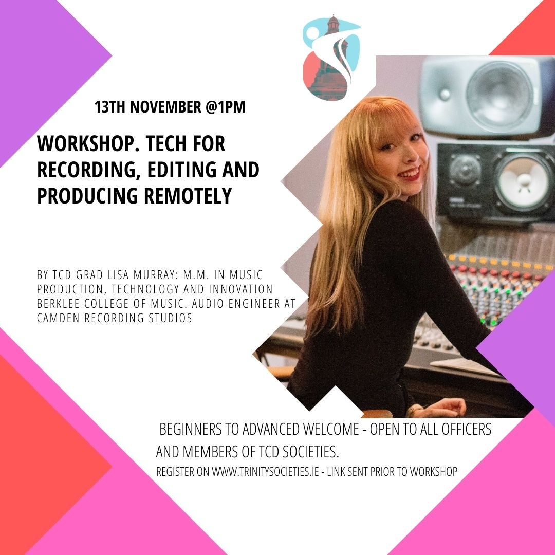 insta of Lisa music recording workshop