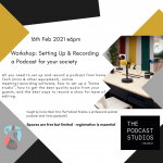 insta podcast workshop